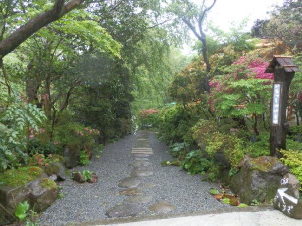 芦ノ湖ペンション森 入り口3