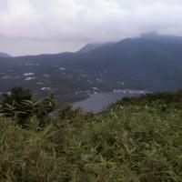 箱根外輪山からの湖尻