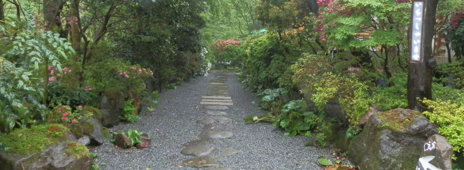 芦ノ湖ペンション森 入り口