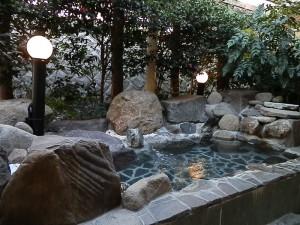芦ノ湖 露天風呂